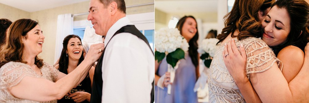True Moments of Mom & Dad with Bride