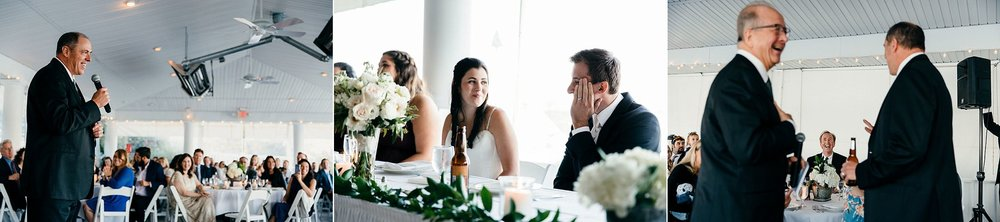 Reception Speeches on a Wedding Day
