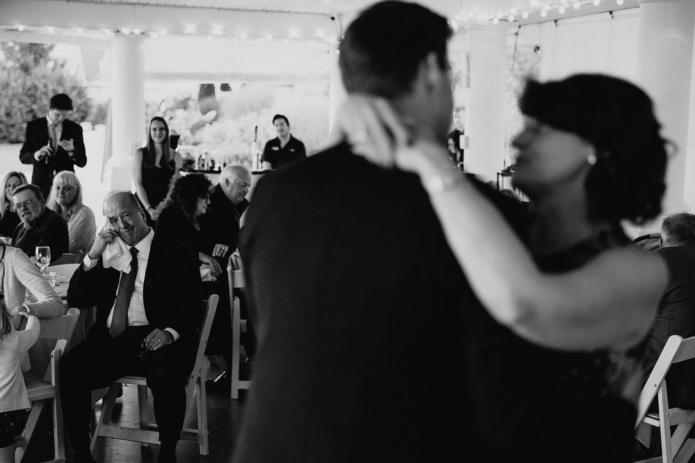 Emotional First Dance Images at a Wedding