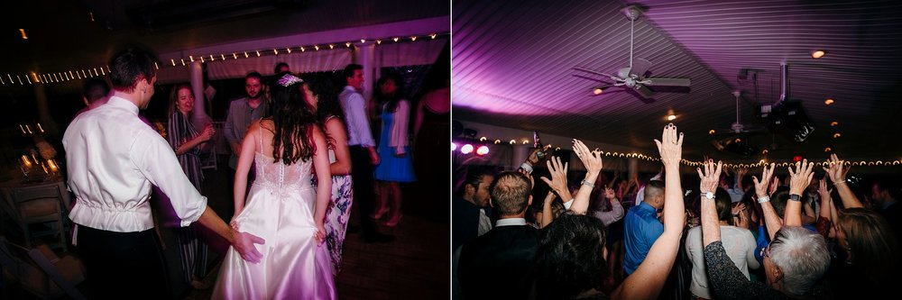 Crazy Wedding Dance Floor Photographs
