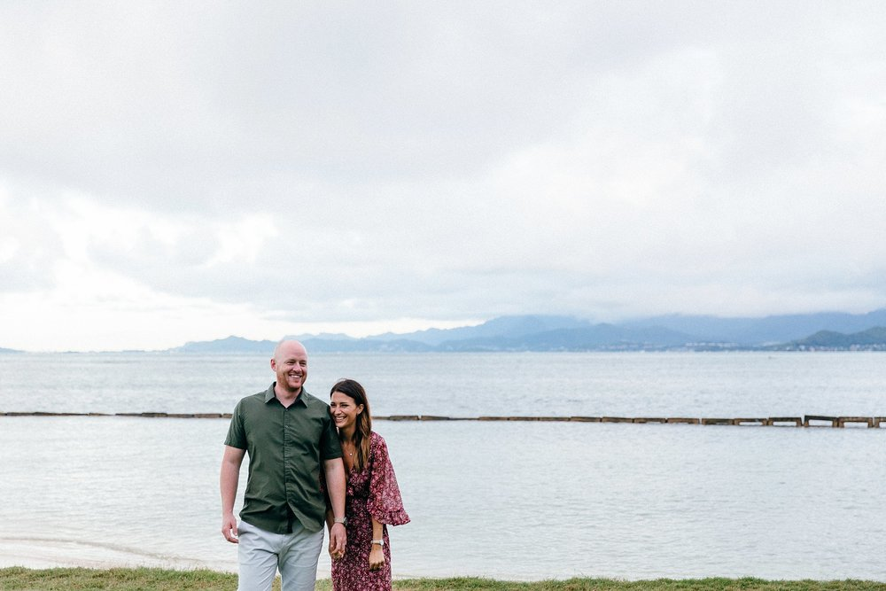 Cute and Fun North Shore Engagement Photos