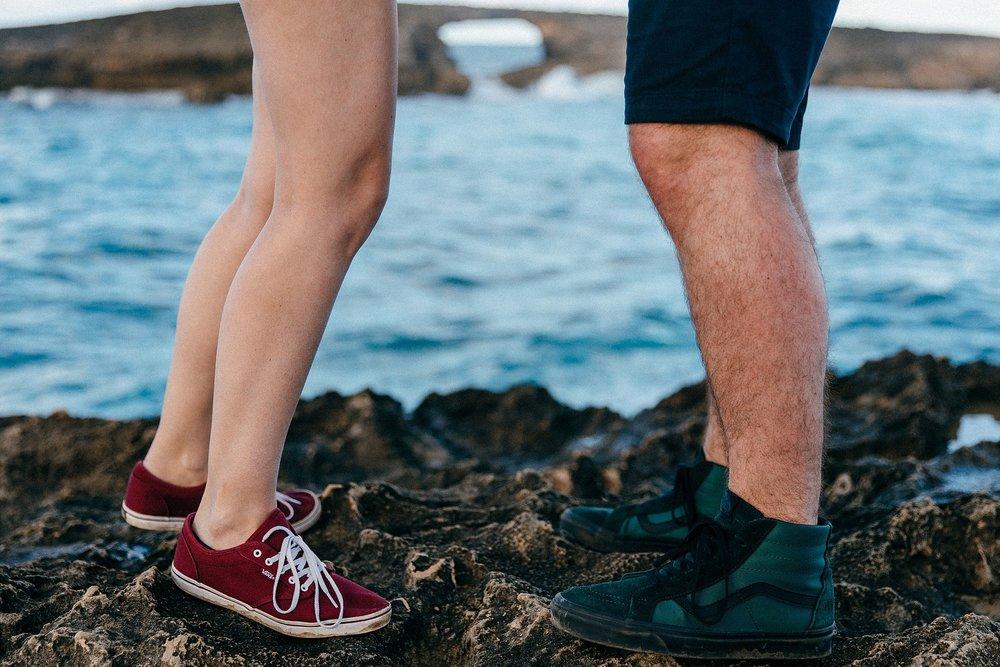 Mackenzie & Lex honeymoon in Hawaii - La'ie Point couple's session