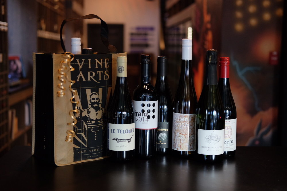 6 wines each month, hand selected by our expert Sommeliers
