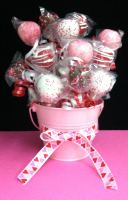 Large Cake Pop Bouquet