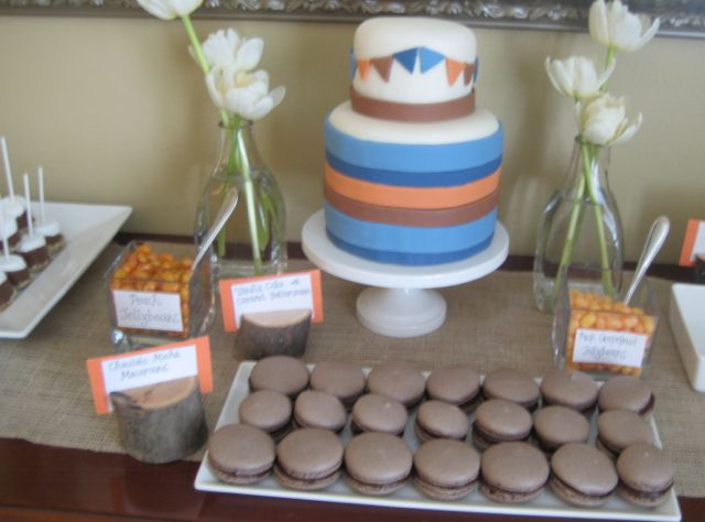 Baby shower dessert table 1