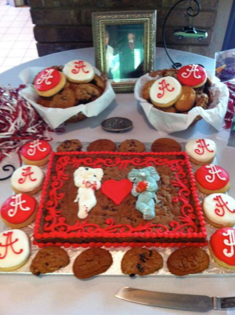 Groom's cookies table 1