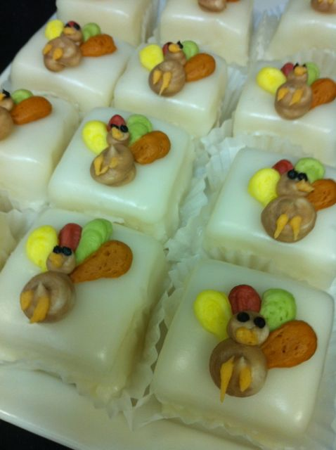 Turkey Petit Fours