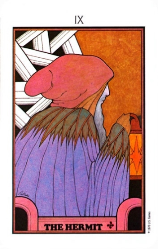From the Aquarian Tarot by David Palladini