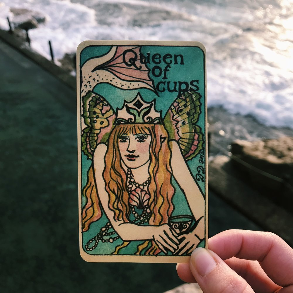 Dame Darcy Mermaid Tarot Australia Queen of Cups