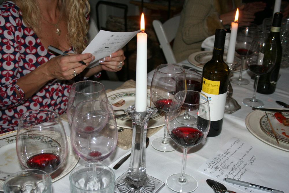 King Street Vineyard makes up to 8 different varieties of red and white wine.  You can't buy this wine but you can definitely taste it.  Three delicious home made courses of  Tapas are served to accompany the wine.  See our menu immediately below.  Menu will change with seasons. Make a reservation today for either Friday or Saturday evening, one seating from 7:00-9:00 pm.  For more details  call 603-672-7000 or email .