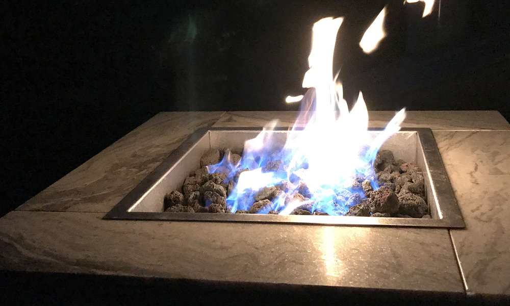 or leave it as is, a warming fire to share with your friends and loved ones.