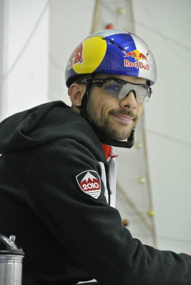 François, en entraînement, à Budapest