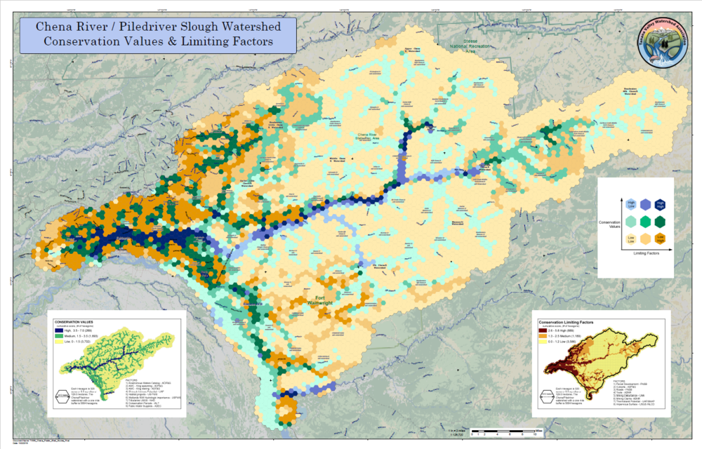 Chena River Watershed WRAP MAP -