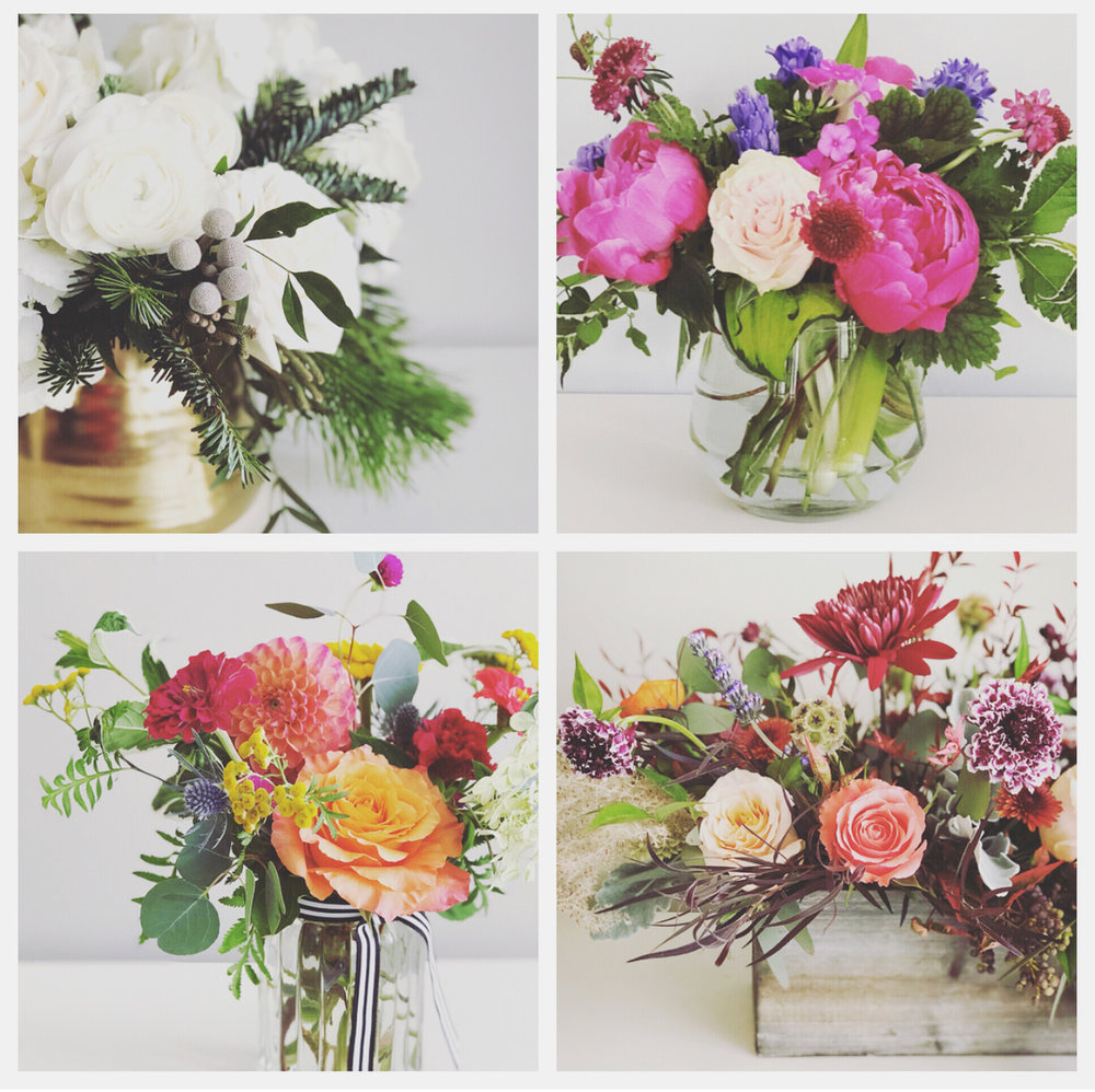 Winter, Spring, Summer & Fall… - Flowers All Year Long!