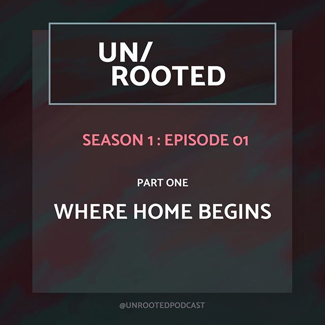 """The first episode of UN/ROOTED is up! And you can find it on almost every podcast platform!!! Listen to it today! Subscribe! Tell your friends! 🎉 • Episode 1 // Part One: """"What is home? Where is home? How do you know you're home?"""" I begin to lay the groundwork for why I am asking these questions about home, I go back to the beginning, and I talk with a few of my family members…all of whom are seemingly more rooted and have a less fraught sense of what home is. • Photo 1) Titlecard // Photo 2) Mimi and I, early 1980's // Photo 3) Me, Dad, my sister @jixi, 1980's (photo by my mom) // Photo 4) Me and my Dad + Texas vibes 1980's (photo by my mom) // Photo 5) My Dad and I, Polebridge, MT 2015 // Photo 6) The kitchen wallpaper at Mimi's house // Photo 7) Mimi holds her great grandson // Photo 8) Mimi sits in her house // Photo 9) @jixi holds her baby Bea. • (Shoutout to my Mom, Sandy, and two youngest sisters, Shelly and Shelby, who are not in this episode, but are just as big a part of my life 💗) • #unrooted #unrootedpodcast #podcast #searchingforhome #whereishome"""
