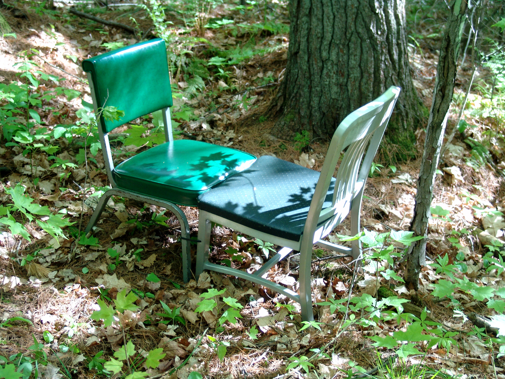 The Rest of the Forest - Part 3  |  2007  |  found chairs  |  collaboration with Bird Ross