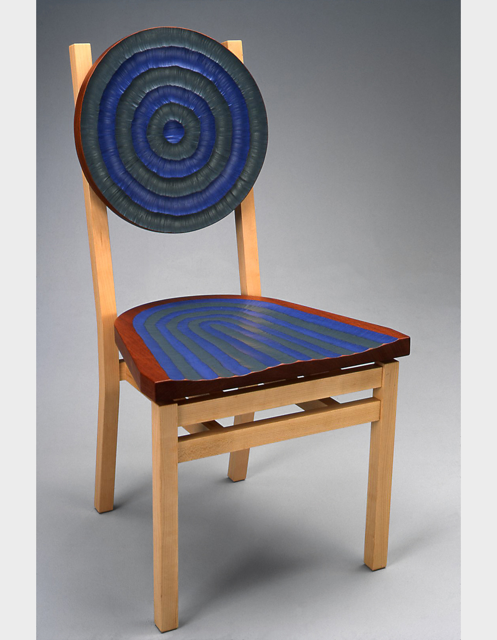 Chair Cubed  |  2003  |  wood, paint  |  39 x 22 x 21