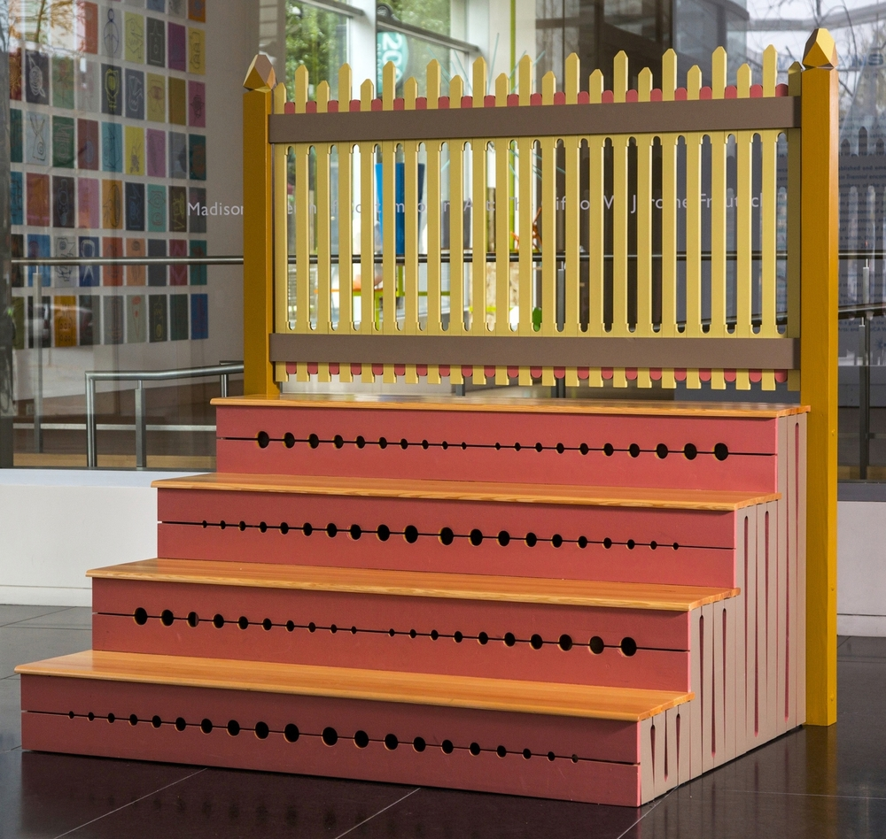 The Stoop Project  |  Tom Loeser and Bird Ross  |  Madison Museum of Contemporary Art  |  2013  |  78 x 75 x 57