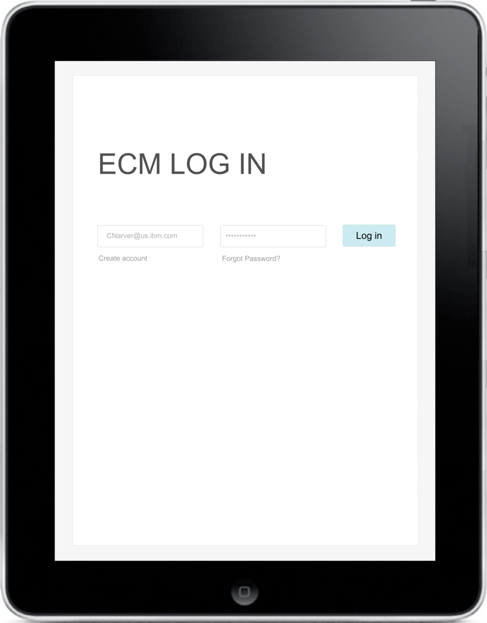ECM Log In