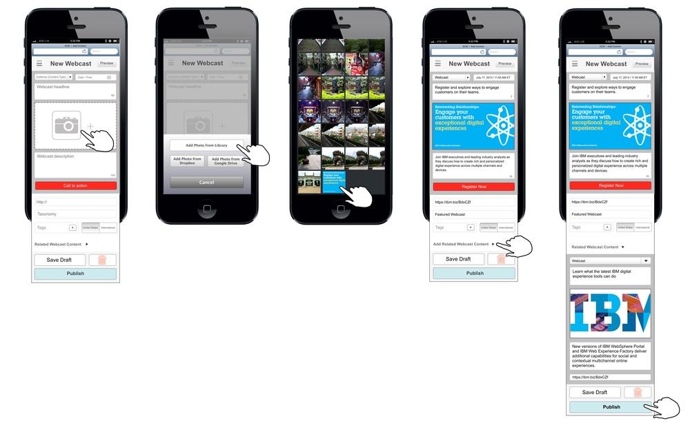 Add Content Mobile