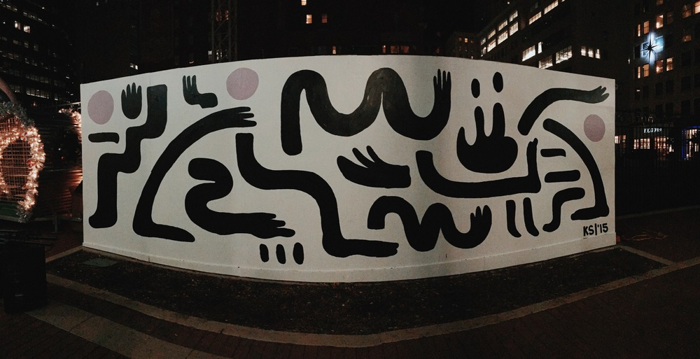 Downtown Dallas Mural by Kyle Steed