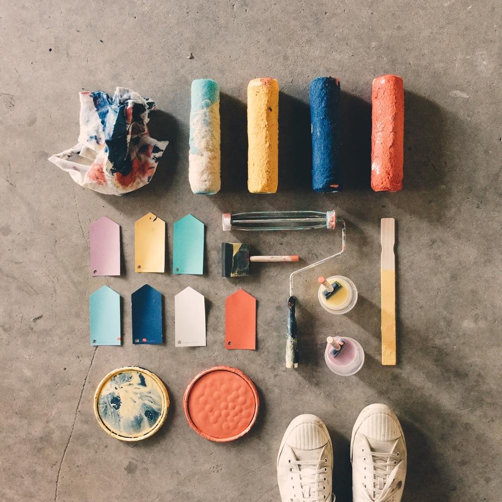 Hari Mari Color Palette by Kyle Steed