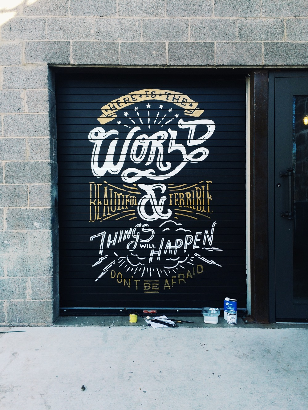 Here is the World for Oak Cliff Coffee by Kyle Steed