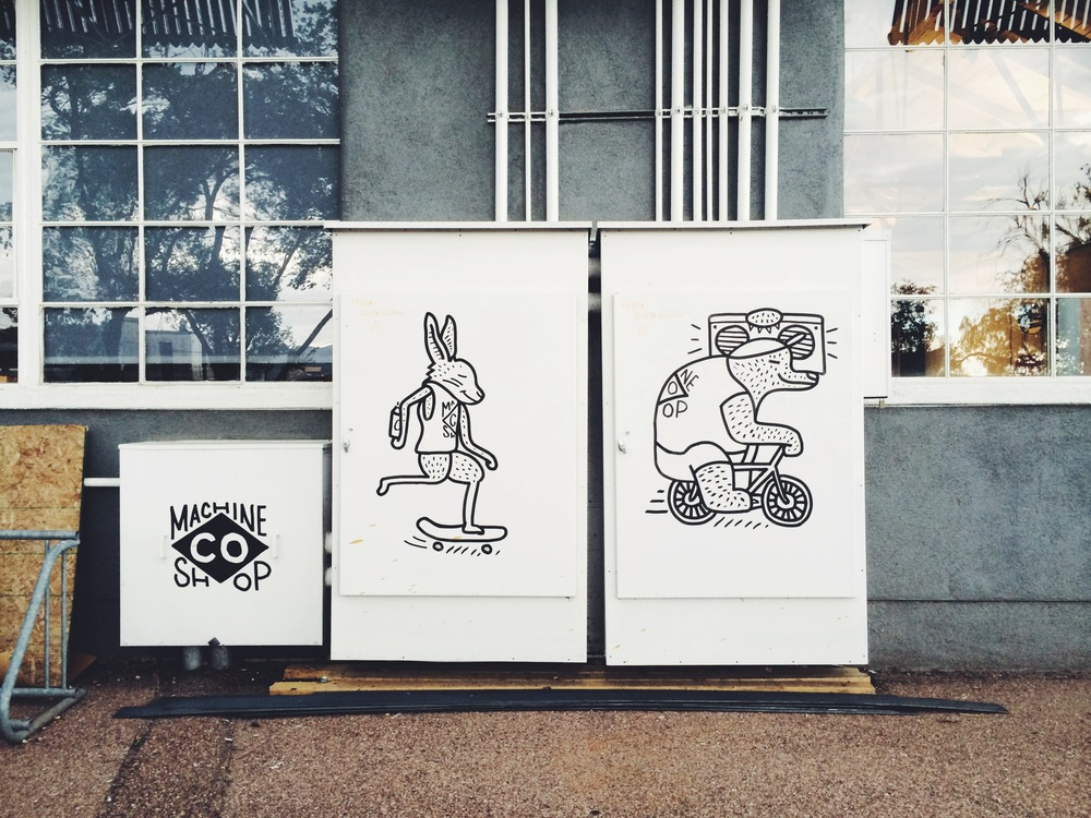 Machine Shop Boxes by Kyle Steed