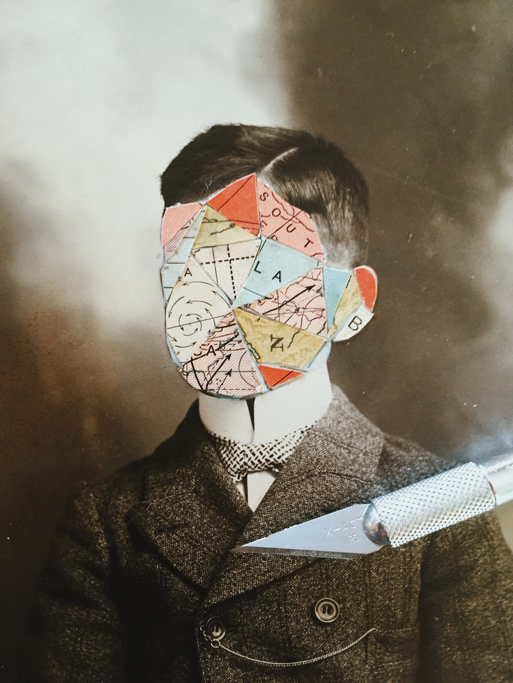 Collage work by Kyle Steed