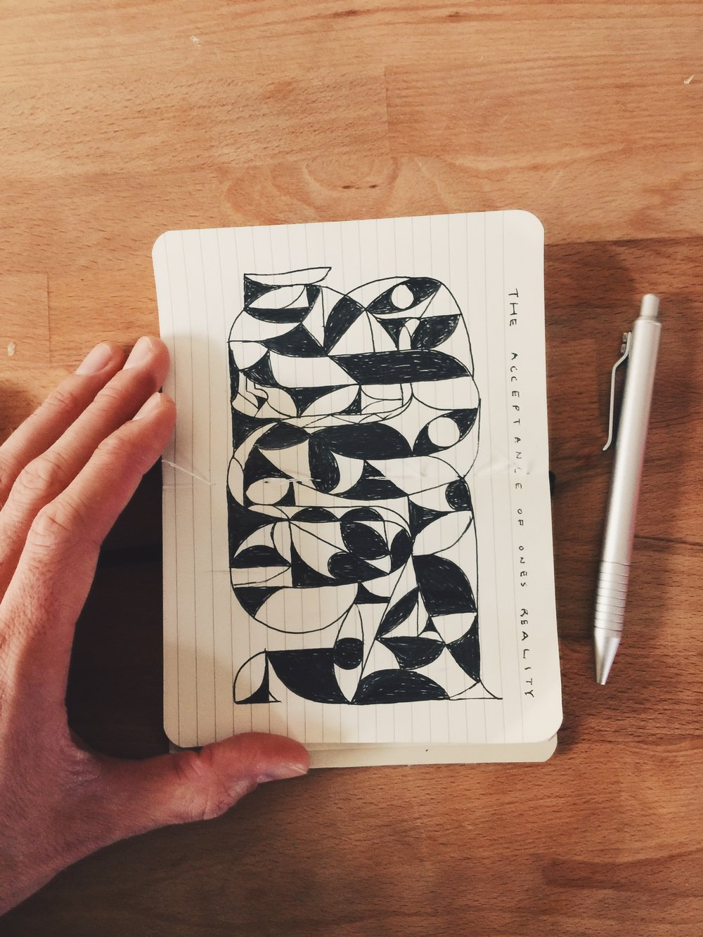 Original Ink Drawing by Kyle Steed