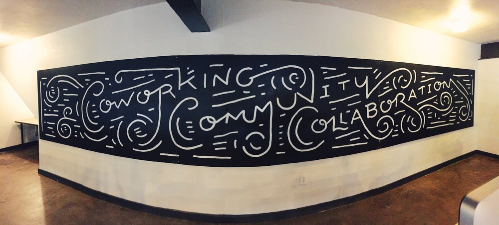 Coworking Community Collaboration at Common Desk Oak Cliff by Kyle Steed