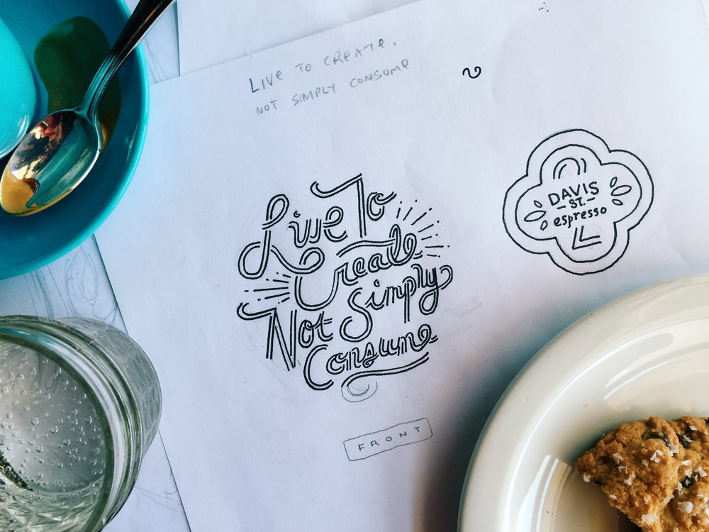 Live to Create not Simply Consume by Kyle Steed
