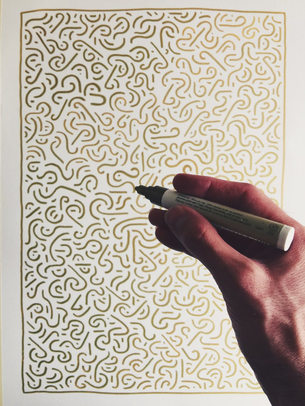 Pattern in Gold by Kyle Steed