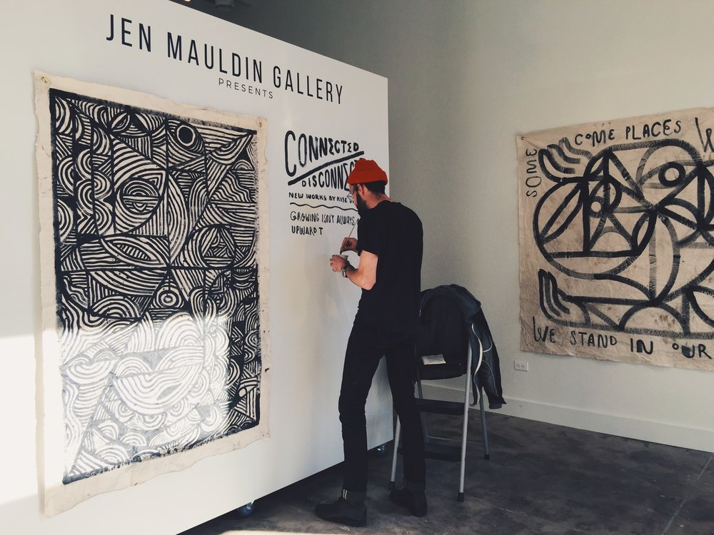 Kyle Steed displaying new work at Jen Mauldin Gallery