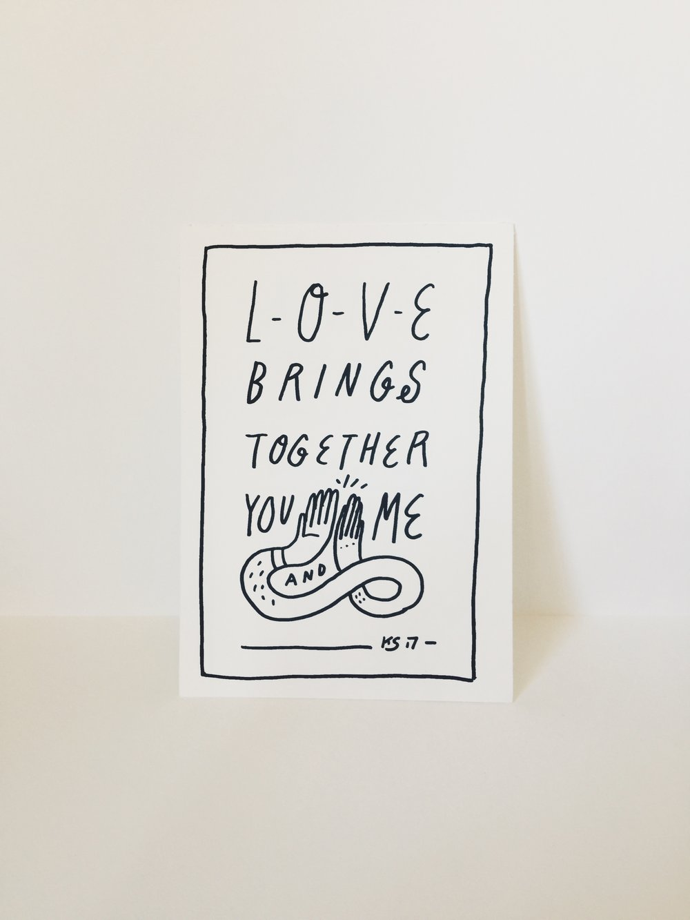 Love Brings Together You and Me by Kyle Steed
