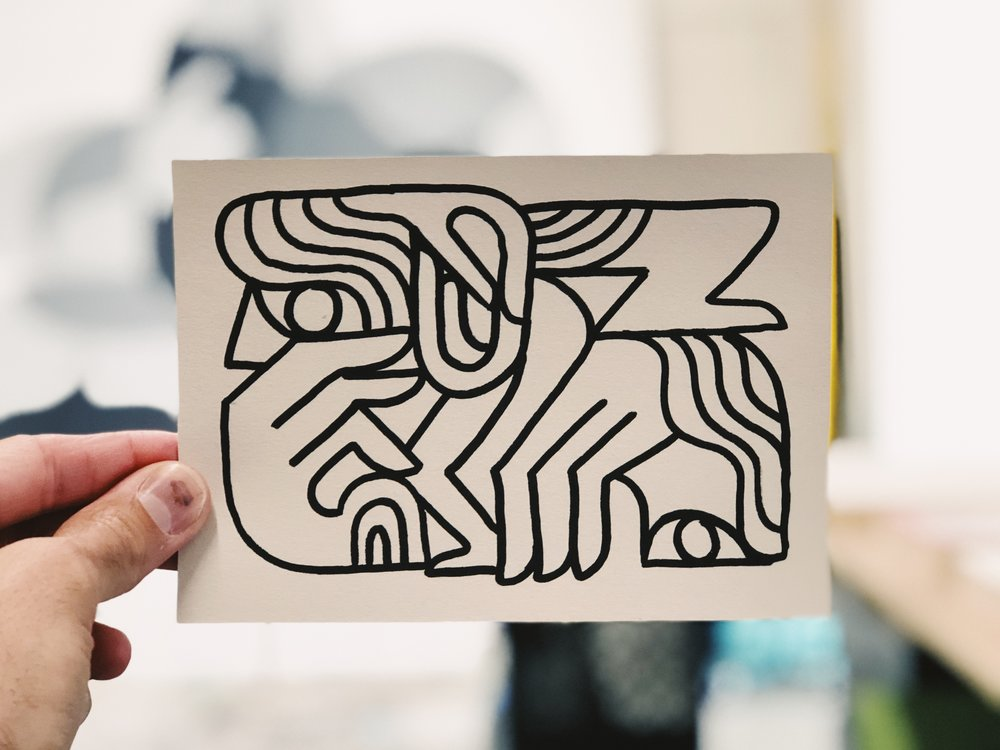 Freehand Drawing by Kyle Steed