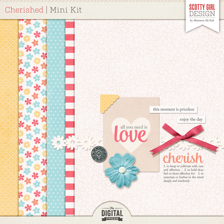 Cherished Mini Kit by Scotty Girl Design