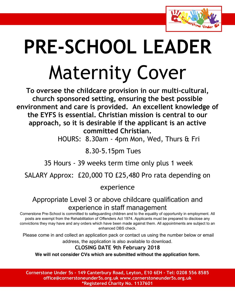 Maternity cover job vacancy 9.1.18.jpg