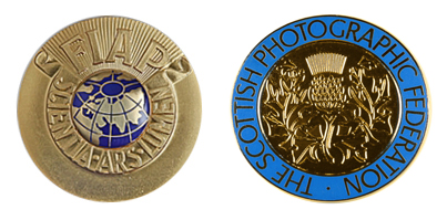 FIAP Gold & SPF Gold Medals