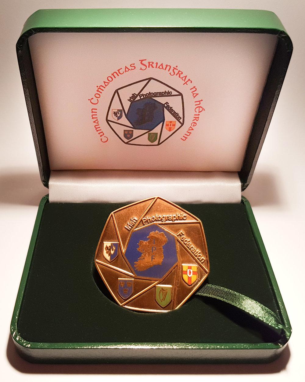 IPF National Shield Judges Medal