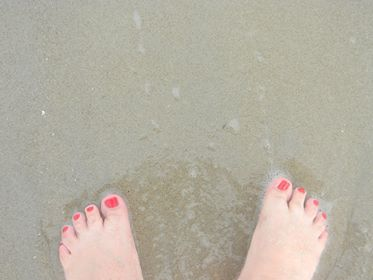 Michelle'sFeetInTheSand.png
