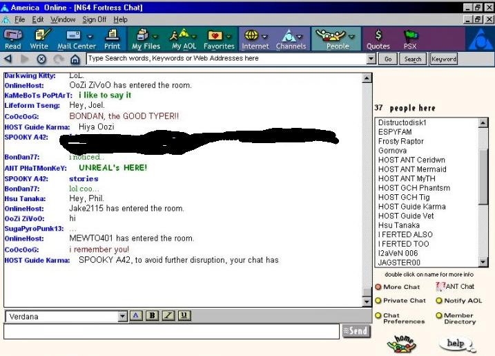Aol com chat rooms