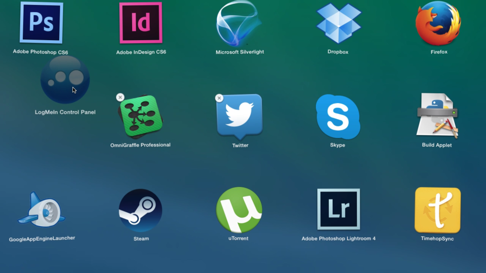 Organizing your apps on a device...