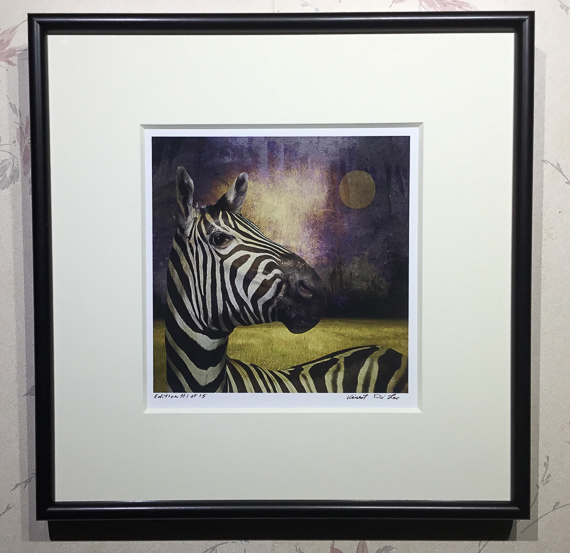 The Zebra - 8x8 Collector's Edition