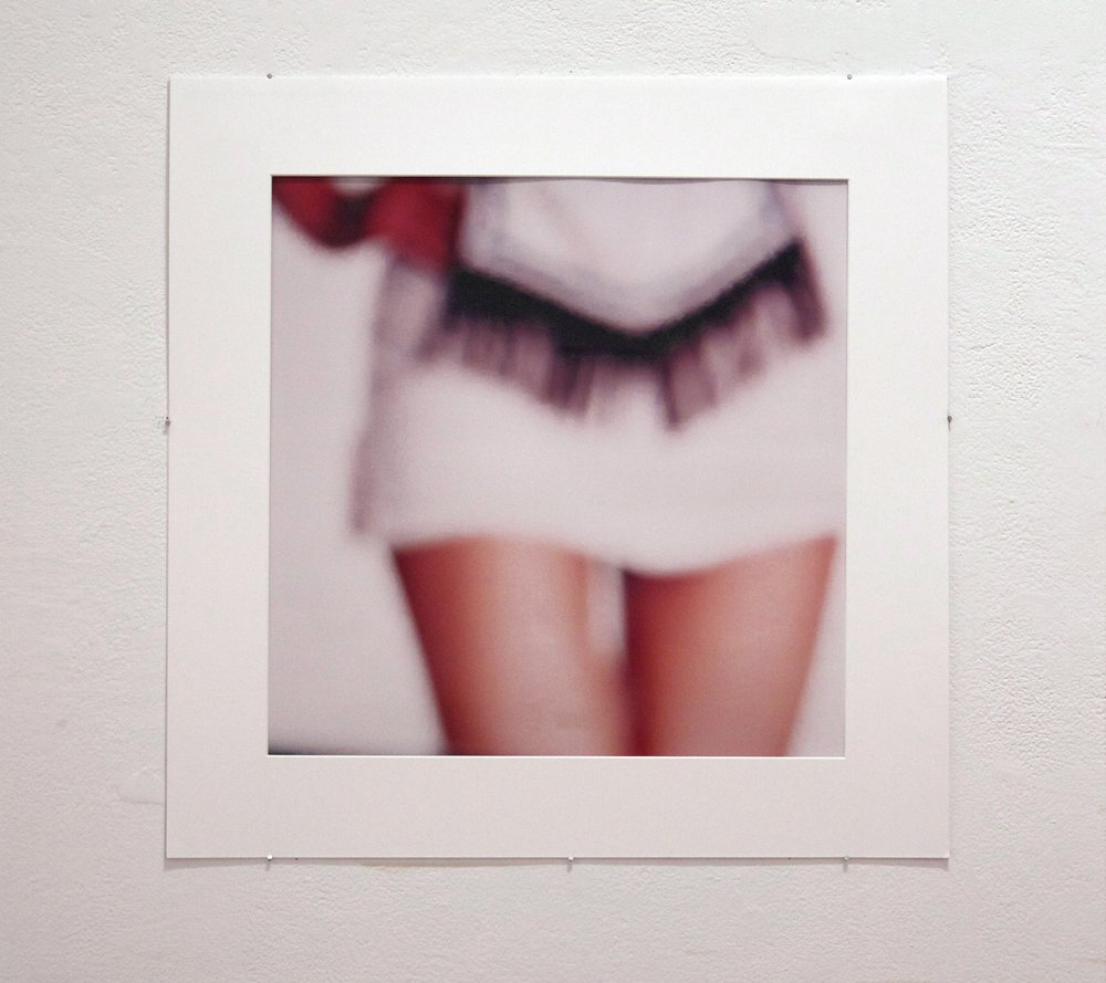 "Fragments Of Flesh  , No. 3, 2012. Color film printed on glossy photo paper, 20"" x 20""."