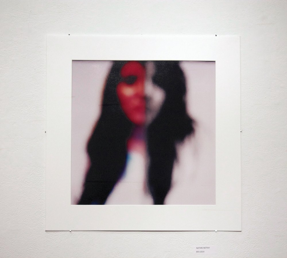 "Fragments Of Flesh  , No. 5, 2012. Color film printed on glossy photo paper, 20"" x 20""."