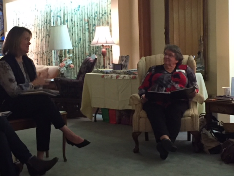 WOW sister, Linda Maynard, invites teacher Pat Inman to share her favorite parts of journaling.