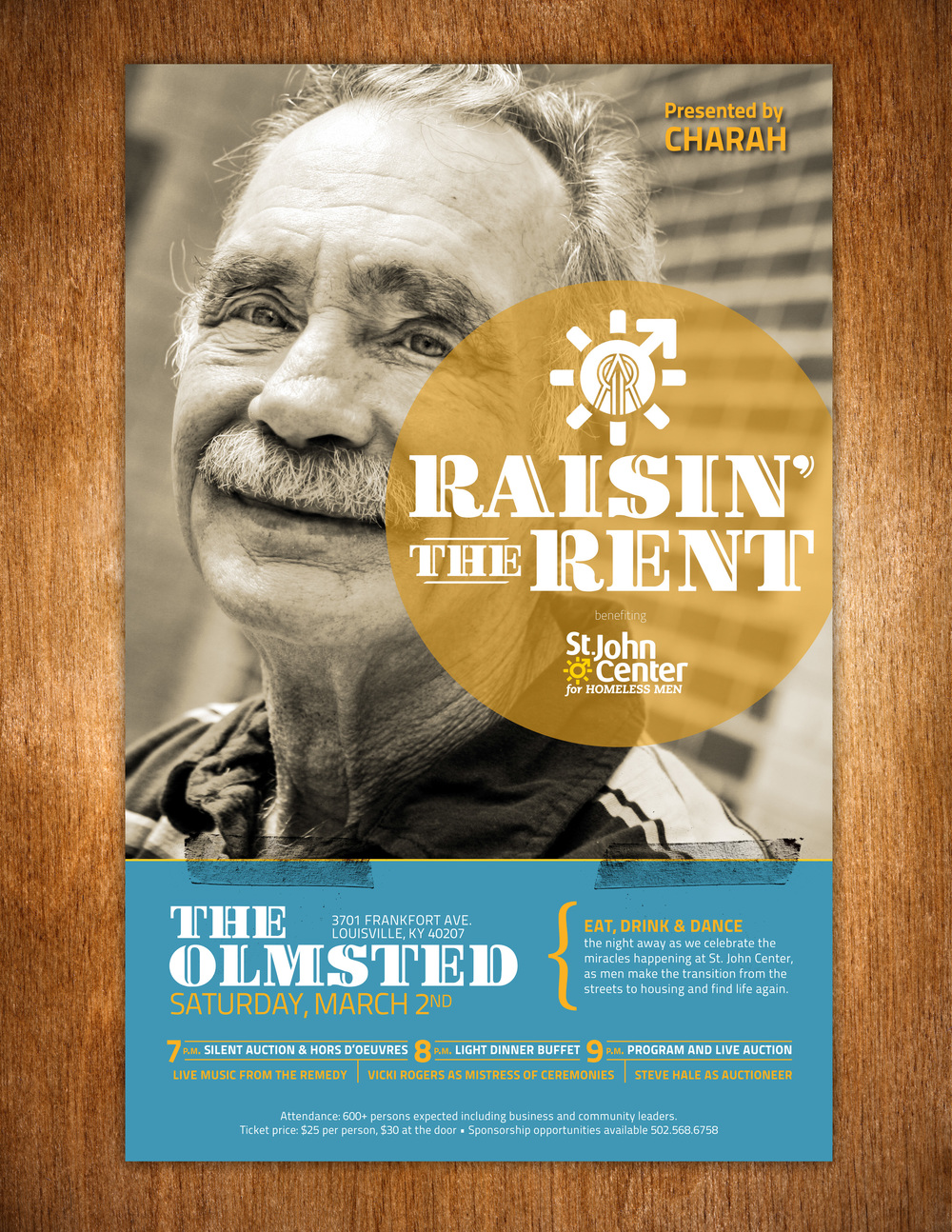 St. John Center: Raisin' the Rent