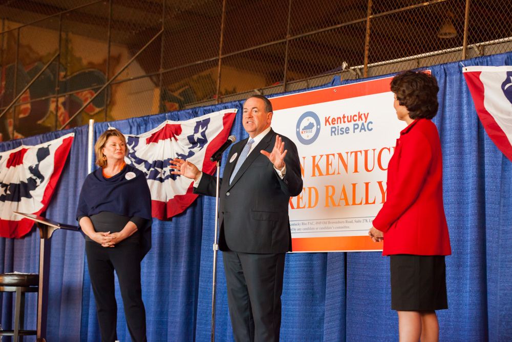 Turn Kentucky Red - with Mike Huckabee & Elaine Chao