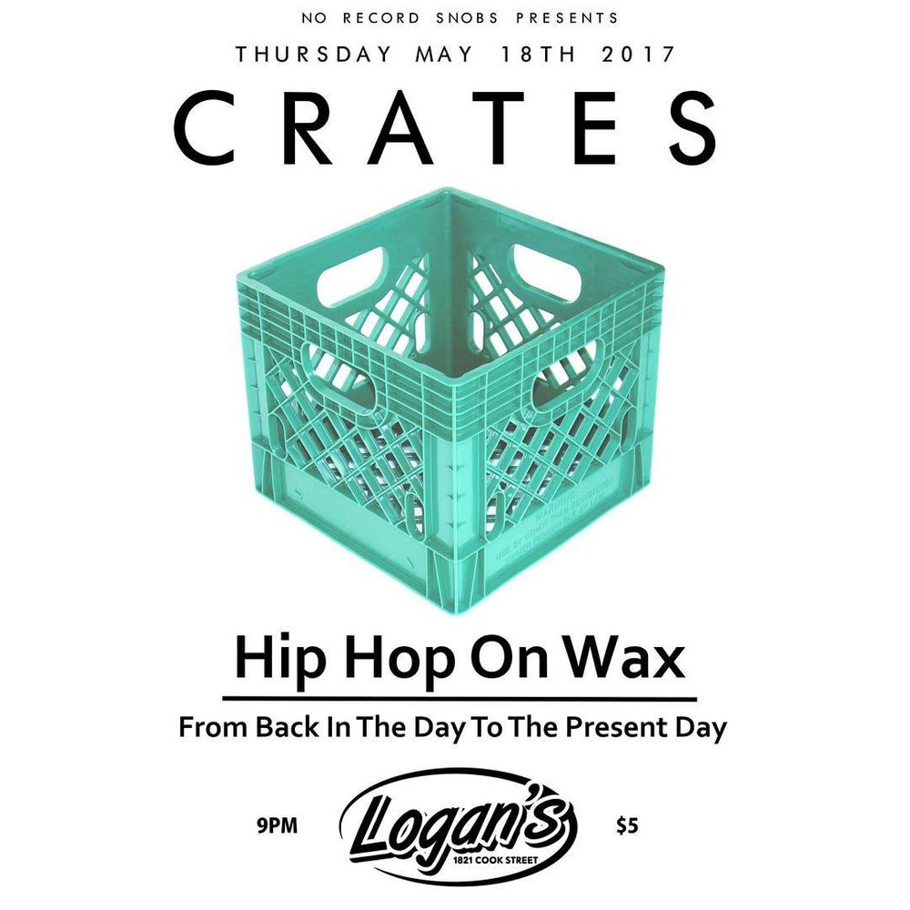 Spinning OG Hip-Hop vinyl spanning from 1979 to the present day NEXT THURSDAY! Electro, Boogie Rap, Disco Rap, Gangster Rap, Conscious, Boom Bap, Booty Bass, Trap, Instrumentals and much more. Playing the tracks in their entirety. No scratching, mixing or